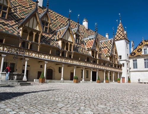 Beaune, capital of Burgundy wines